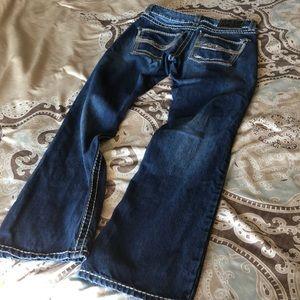 Wrangler Jeans - Wrangler Rock 47 Denim Boot Cut Jeans